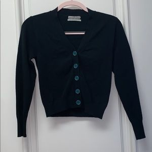 Urban Outfitters Cropped Button Up Sweater